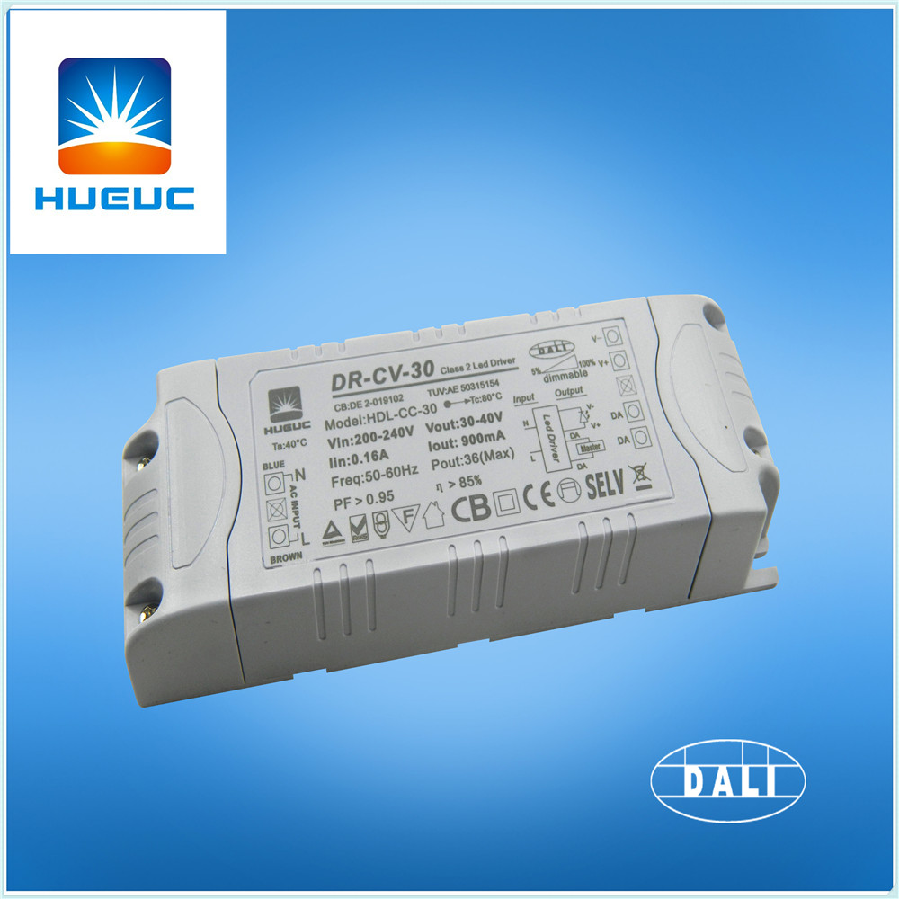 DALI dimmalbe 30W panel light led driver