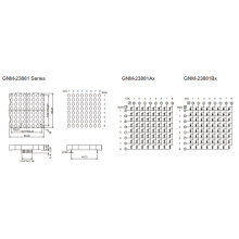 2.3 Inch, 5.0mm DOT (GNM-23881Ax-Bx)