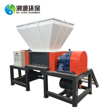 Twin Shaft Plastic Waste Recycling Industrial Crusher
