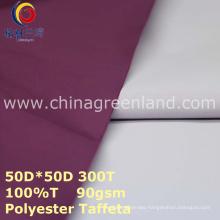 Polyester Taffeta Coating Plain Fabric for Clothes Raincoat (GLLML275)