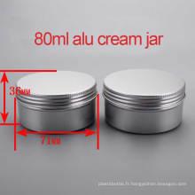 80g Capuchon / Jar / Caisses à Vis en Aluminium