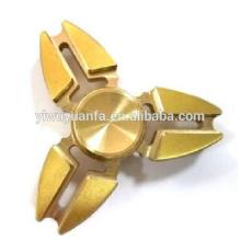 Alta calidad Popular Anti Stress Metal Gold Spinner mano