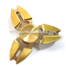 High Quality Popular Anti Stress Metal Gold Hand Spinner