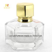 Garrafas de perfume 35ml de vidro vazias com bomba de pulverizador
