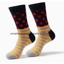 Moda Bulk atacado Custom Happy Design Socks