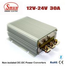 A fonte de alimentação do carro do conversor de 12V-24VDC 30A DC-DC com IP68 Waterproof