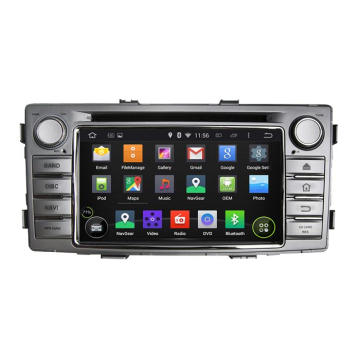 6,2 Zoll Android System Car DVD-Player für Hilux