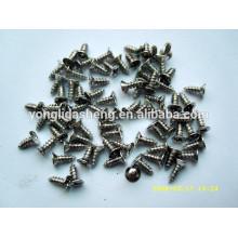 Vários produtos de metal de parafuso de aço inoxidável
