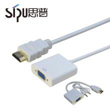 СИПУ высококачественный кабель конвертер лучшей цене оптом с V 1.4 HDMI для VGA адаптер