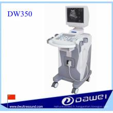 Machine d'échographie de chariot pour la machine de balayage ultrasonique médicale numérique de DW350