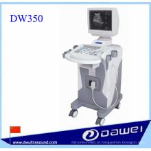 Máquina de ultra-som de carrinho para DW350 máquina de varredura de ultra-som médico digital completo