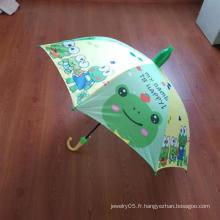 Parapluie en tissu pongé