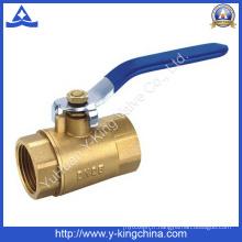 Vanne à bille en laiton pour systèmes d'approvisionnement en eau (YD-1015)
