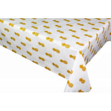 Elegant Tablecloth with Non woven backing Boat Floor