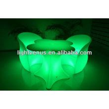 Sofá LED de cambio de varios colores
