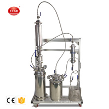 stainless steel bho closed loop extractor