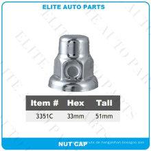 Chrome Nut Cover für Auto (3351C)
