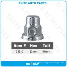 Chrome Nut Cover for Car (3351C)