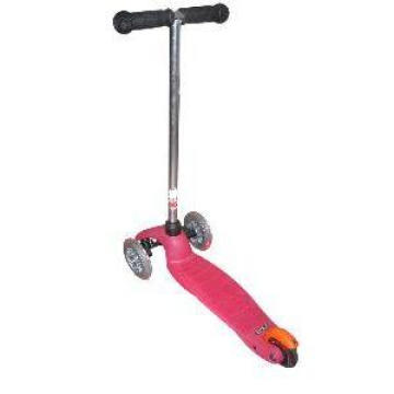 Pink Baby Scooter with Balance Wheels