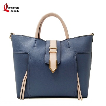 Ladies Blue Large Tote Bags Handtaschen Onsale