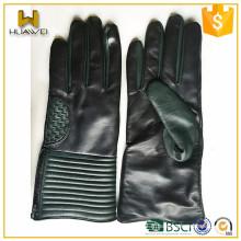 Gants d'hiver pour hommes Gants en peau de mouton en cuir fabriqués en Chine Baoding