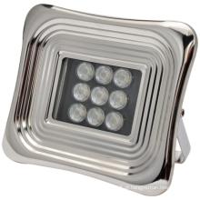 Holofote solar LED suave para quadrado