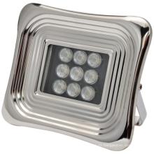 Proyector solar LED suave para cuadrado