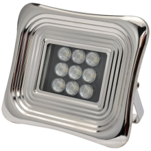Мягкий светодиодный солнечный прожектор для квадрата