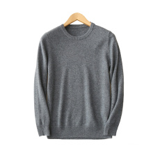 Hommes pull pull 100% cachemire O cou 12GG épais tricot chandails chauds