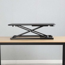 Bamboo Adjustable Standing Desk Converter