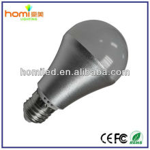 2014 nova lâmpada LED E27 alumínio