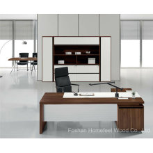 High Quality Office Wooden Executive Boss Desk Furniture (HF-TWB101)