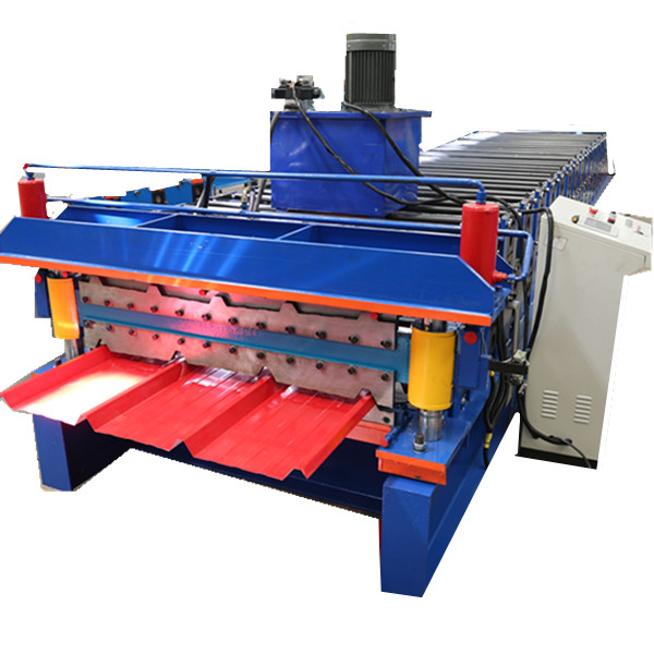 Chile Roof Sheet Machine