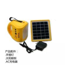 Linterna solar de la lámpara de la venta caliente LED de la fábrica ISO9001