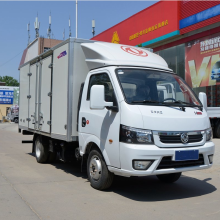 Camión de carga Dongfeng con caja de carga sellada