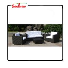 Shinygarden rattan wicker combination chair 4pcs