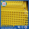 Wire Mesh Welded Coated PVC Kuning