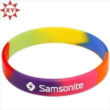Красочный Размер wristband кремния для взрослых