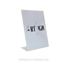 Acryl Menü und Etikettenhalter
