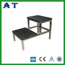 Double foot stool