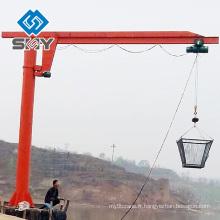 360 Grue de tour de pivotement de grue 3 tonnes