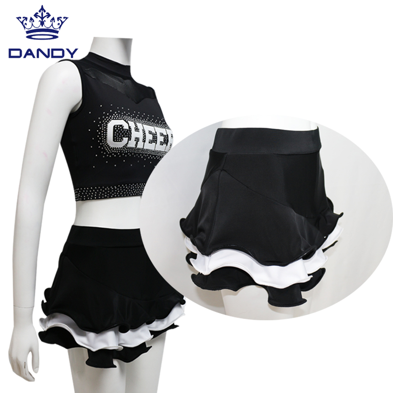 cheerleading crop top