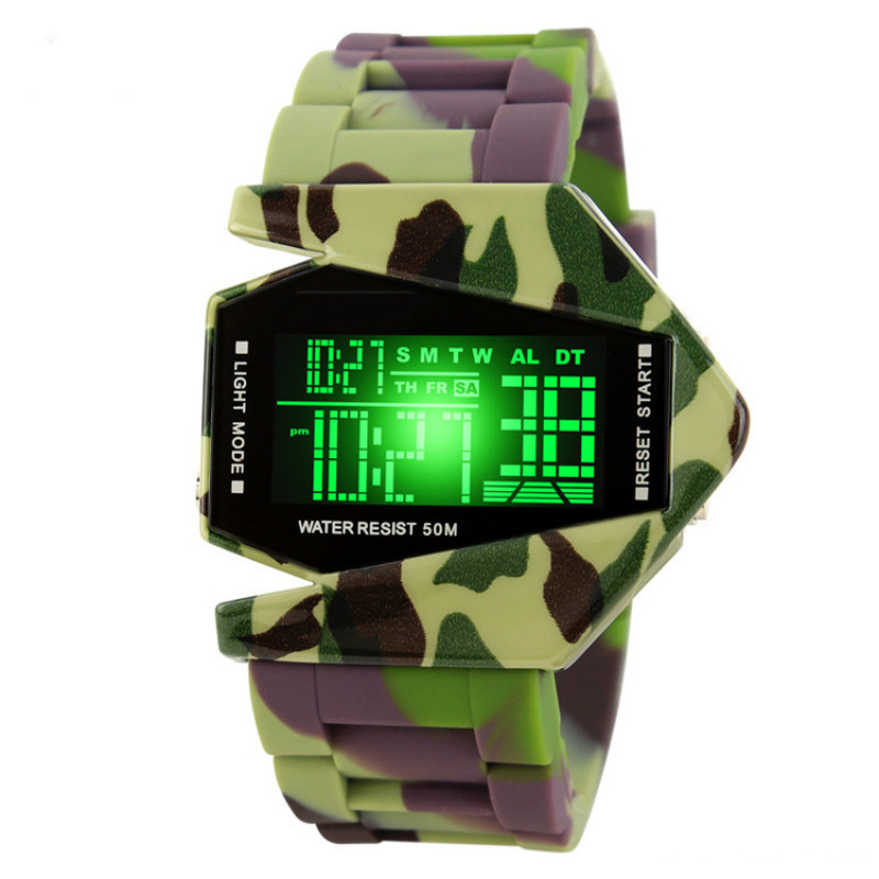 Hot sale Plane shape led watch for children