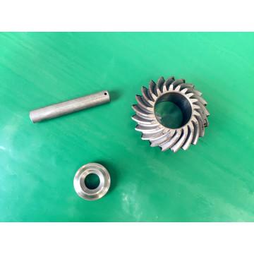 Pieza mecanizada CNC por pieza de acero inoxidable para pieza de máquina