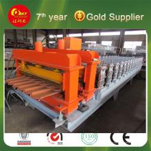 Farbe Stahl Preise Produktionslinie Rollenformmaschine