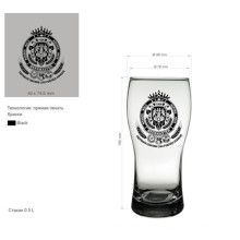 Whisky Cup Glass Cup for Beer or Drinking Beer Cup Kb-Hn03589