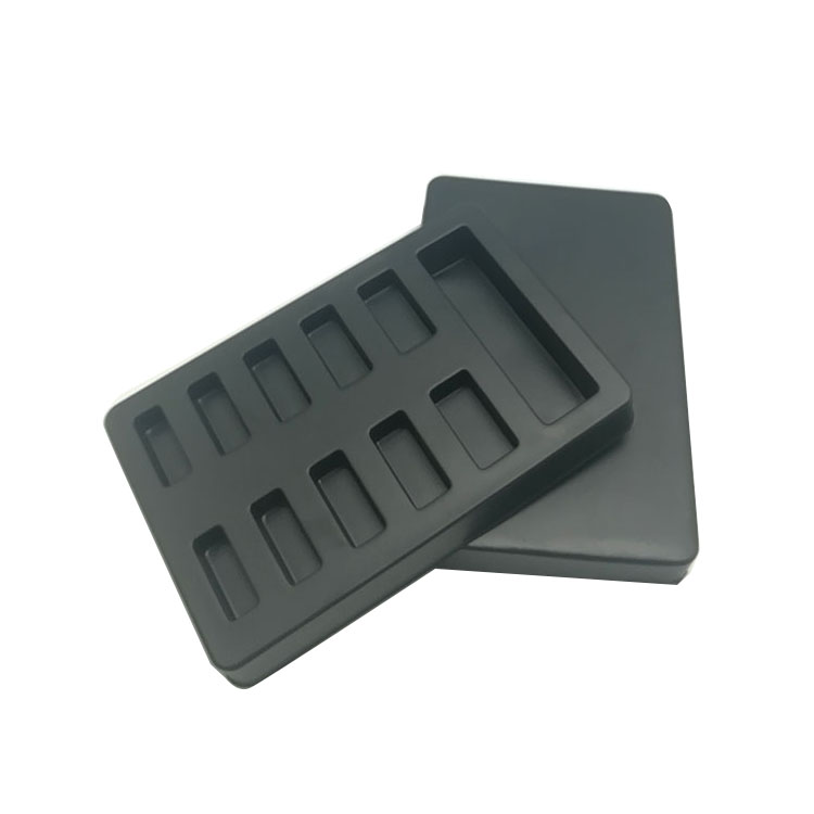 Black Blister Tray With Lid