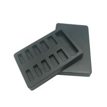 Caja interior de puntas de uñas de plástico Bandeja de blíster de PVC