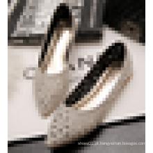 2016 Senhoras Verão Atacado China Flat Shoe Laser Cut Mulheres Casual Flats