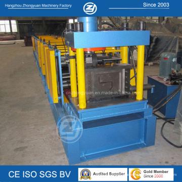 Hydraulic Cutting Z Purlin Cold Roll Forming Machine